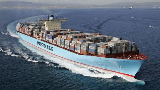 Edith Maersk Boat Ship Hajozas