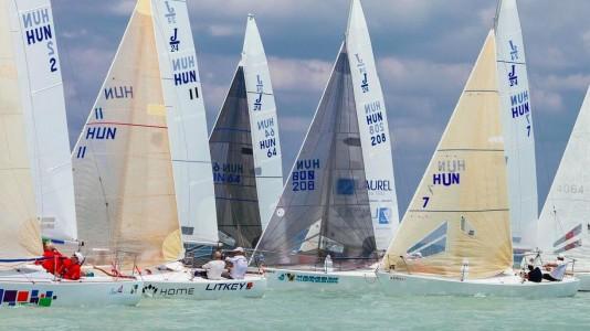 j24-orszagos-bajnoksag-litkey-vitorlazas-sailing-balaton-hajozashu