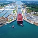 Óriás hajók az új Panama-csatornán
