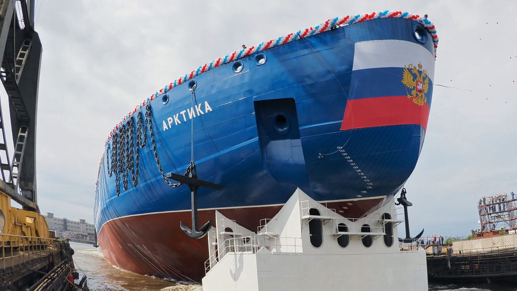 arktika-atomjegtoro-hajo-oroszorszag-roszatom-jegzajlas-hajozashu