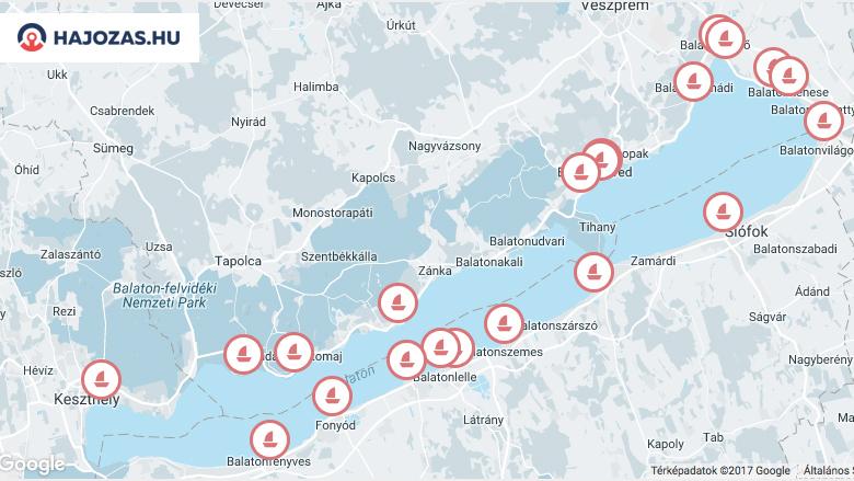 hajózási térkép balaton Tőkeemelésre van szükség a Balatoni Hajózási Zrt ben   HAJOZAS.HU hajózási térkép balaton