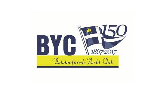 BYC Logo Balatonfured Yacht Club Tolnay Kalman Emlekverseny Vitorlazas