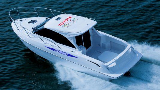 toyota-hybrid-boat elektromos motorcsonak HAJOZASHU