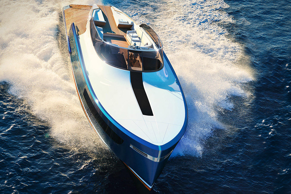 Aeroboat S6 Rolls Royce Luxushajo Jacht Yacht HAJOZASHU