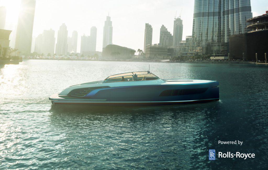 Aeroboat S6 Rolls Royce Luxushajo Jacht Yacht HAJOZASHU5