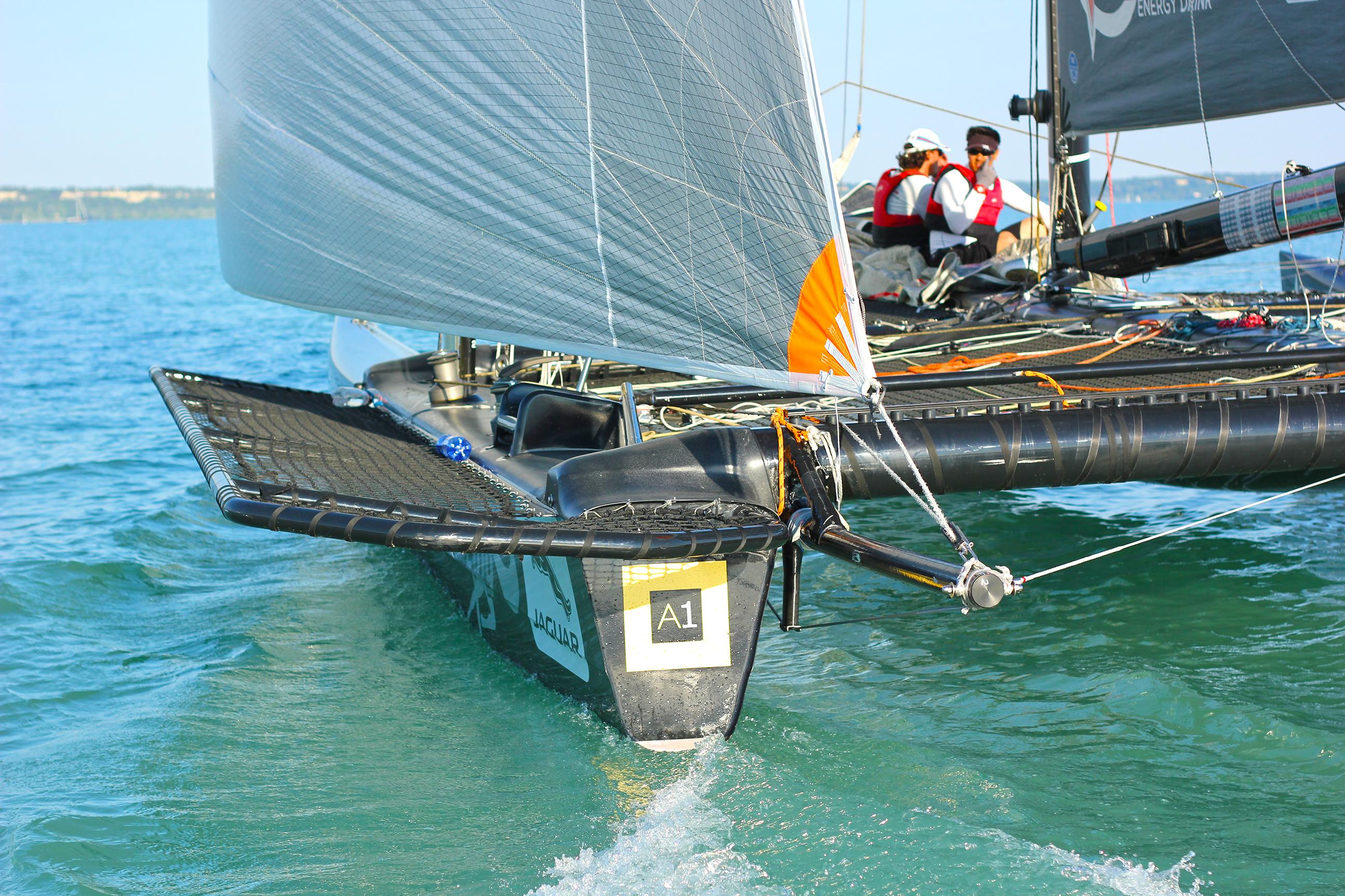 Litkey Farkas Farsudar Decision 35 Catamaran Kekszalag Vitorlazas Sailing HAJOZASHU12