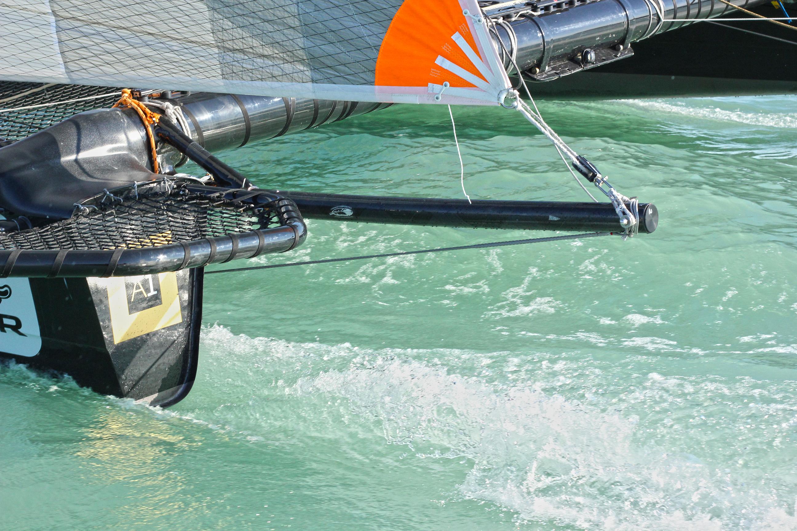 Litkey Farkas Farsudar Decision 35 Catamaran Kekszalag Vitorlazas Sailing HAJOZASHU13