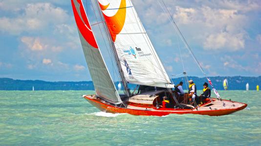 Sirocco 70es Cirkalo Balaton Vitorlas Sailing Yacht Czittel Lajos HAJOZASHU