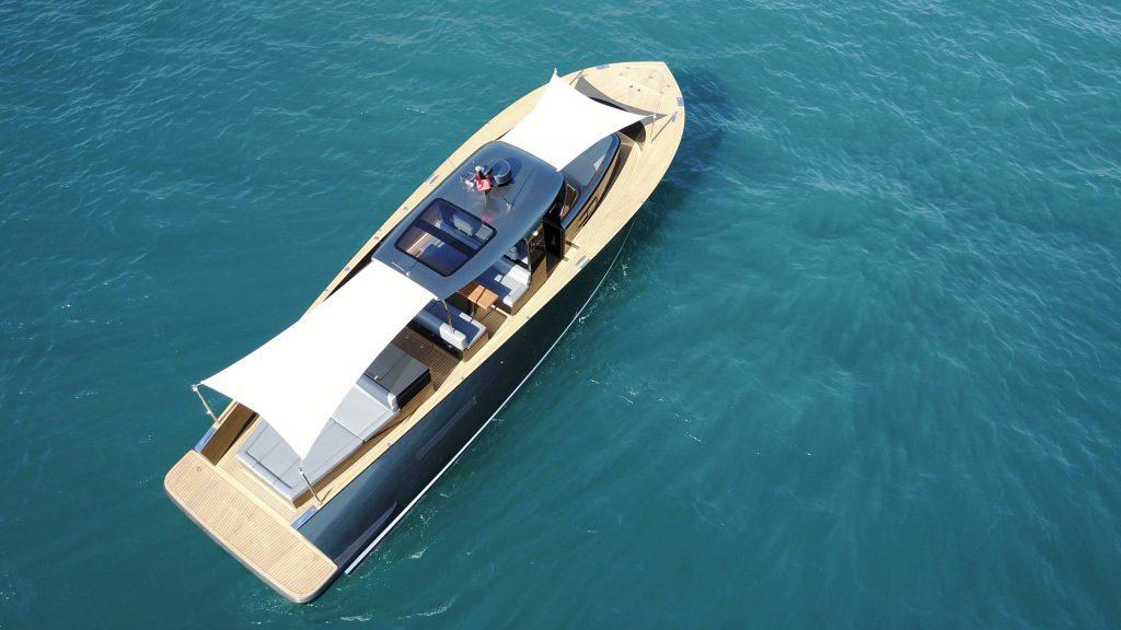 Alen45 Yacht Luxushajo Motorcsonak HAJOZASHU