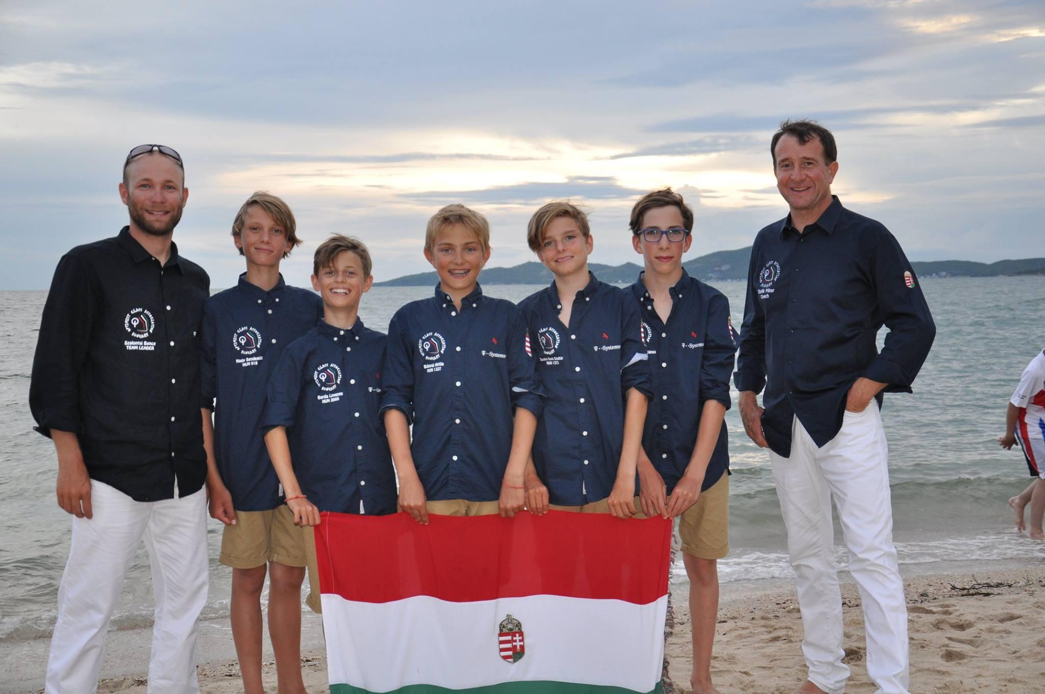 Optimist Vilagbajnoksag Thaifold Magyarorszag Hungary Sailing HAJOZASHU1