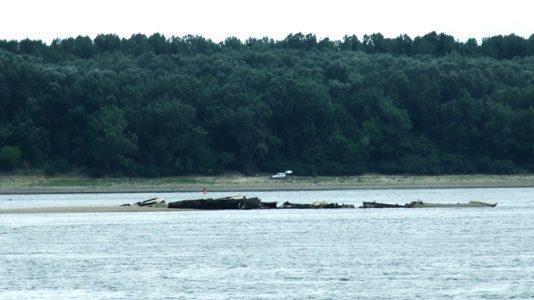 Prahovo Danube Duna Hajoroncs Shipwreck HAJOZASHU