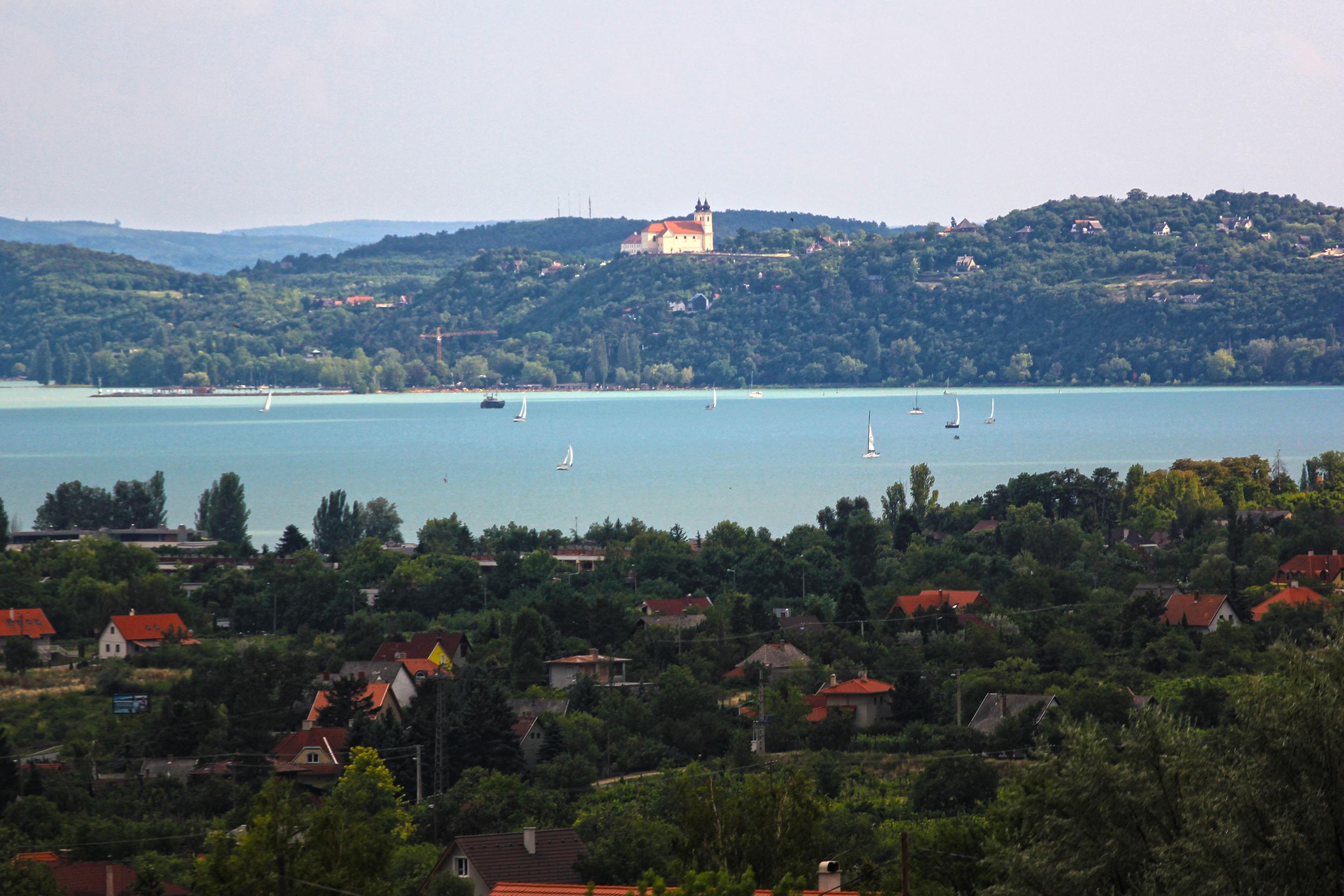 Tihany, Balatonfüred, Csopak viharfelhő, fotó © HAJOZAS.HU