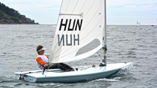 Vadnai Jonatan U21 Laser Europa Bajnoksag Ezusterem Vitorlazas Sailing HAJOZASHU1