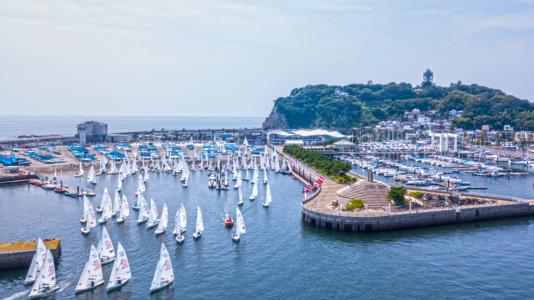 470 Junior Vitorlazo Vilagbajnoksag Japan Gyapjas Enoshima Olimpia Sailing HAJOZASHU