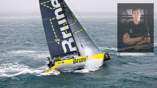 Peter Burling Brunel Sailing Volvo Ocean Race Americas Cup Vitorlazas Sailing HAJOZASHU