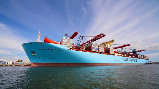 Veszteseg Maersk Vilag Legnagyobb Hajozasi Vallalata Teherhajozas HAJOZASU