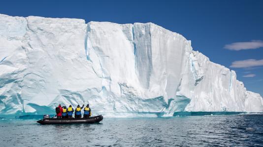 A68 Iceberg Jeghegy Hajozasi Utvonal Veszely HAJOZASHU