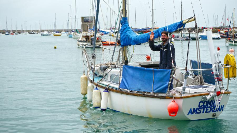 Vedo Attila Foldkoruli Vitorlazas Meder Aron Atlanti Ocean Sailing HAJOZASHU