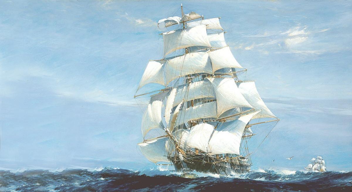 Háromárbócos vitorlás hajó kor